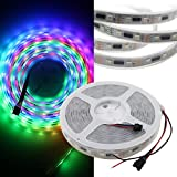 GOESWELL LPD8806 RGB LED Streifen 48LEDs pro Meter 24ICs/M DC5V Meterware Wasserdicht Ambilight 5Meter