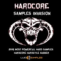 Hardcore Samples Invasion - Hardcore Samples, Hardcore Loops & Sounds [WAV Files] [DVD non Box]