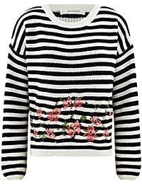 Promod Gestreifter Oversize-Pullover