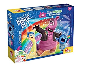 Lisciani Giochi 56538 - Puzzle DF Supermaxi 60 Inside out