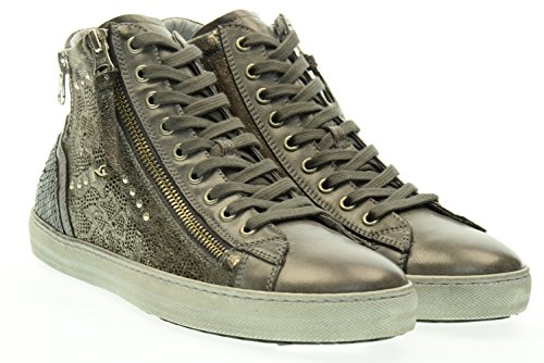 NERO GIARDINI donna sneakers alta A616210D/104 39 Antracite