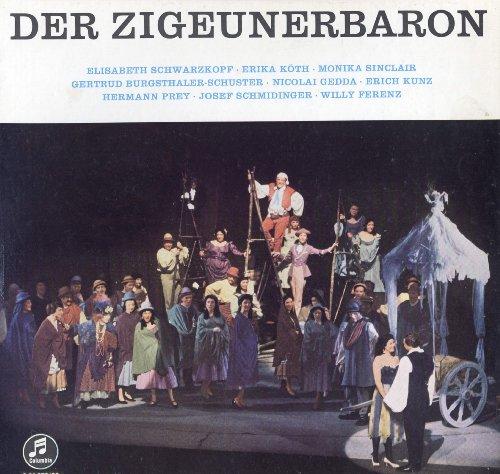 STRAUSS DER ZIGEUNERBARON Schwarzkopf Kunz Ackermann Columbia 2x 180g LP Box mit ausführlichem Begleitheft