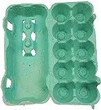 115 Stück Ingbertson® Grüne Eierkartons für 10 Eier # Eierpappen # Eierbox # Eierschachteln (115, je 10 Eier, grün)