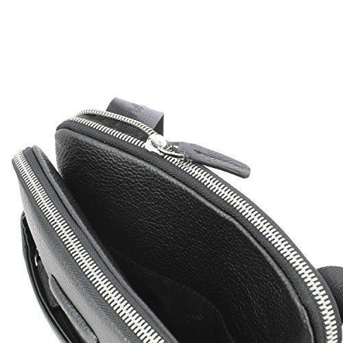 Piquadro - Borsello porta iPad®Air/Pro 9,7 con porta penne - CA3978MO Nero
