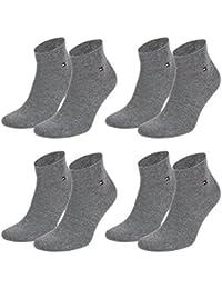 Tommy Hilfiger Herren Classic Quarter Socken 342025001 4 Paar