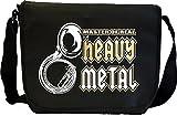Sousaphone Masters Real Heavy Metal - Musik Noten Tasche Sheet Music Document Bag MusicaliTee