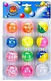 PTCMART Crazy balls set of 12