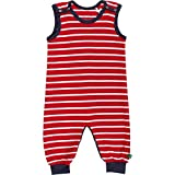 Fred's World by Green Cotton Unisex Baby Spieler Stripe Romper Rot (Red/Cream 019800008) 98