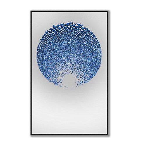 ZHUDJ Dekorative Malerei Soft Proberaum Malerei Abstrakte Malerei  Handgemachte Kunst Zeichnung Designer Wohnzimmer Stein Zeichnung,