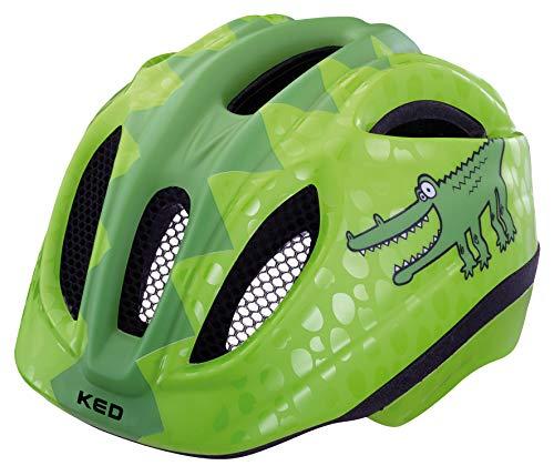 KED Meggy Trend Helmet Kinder Green Croco Kopfumfang S/M   49-55cm 2019 Fahrradhelm