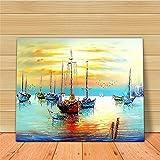 Godess4 DIY Ölfarbe, Digital Painting Suite - Voyage 16 * 20 Zoll (40 * 50 cm) Füllen Sie Ihre handgemalte Digitale Öldekoration.