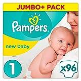 Pampers New Baby Windeln, Größe 1, Pack mit 96 Stück