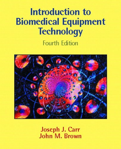 Introduction To Biomedical Equipment Technology By Joseph J Carr Pdf