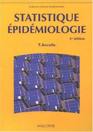 Statistique - Epidmiologie