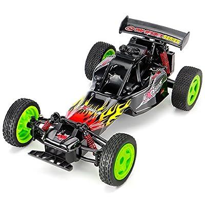 RC Car Auto 1:16 Funkferngesteuertes Auto Ferngesteuerte autos mit 2.4Ghz Fernsteuerung Monster-Truck RC Buggy elektrischer Hochgeschwindigkeits-Rennwagen für Kinder und Erwachsene von Getonny