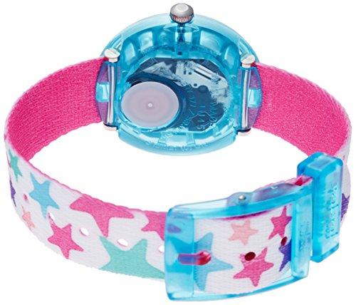 Flik Flak Mädchen Analog Quarz Uhr mit Stoff Armband FBNP081 - 2