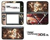 Vanknight Vinyl-Aufkleber für Nintendo 3DS XL 2015, Motiv: Anime Schwert Art Online Kirito SAO