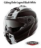 Motorrad Caberg Duke Legend Flip Up Helm Neue 2016Motorrad Flip vorne Sharp 5* * * * * ECE zugelassen Helm schwarz/weiß schwarz schwarz L