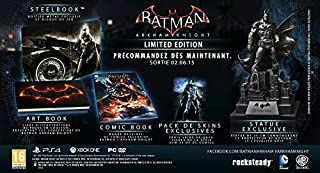 Batman Arkham Knight - édition limitée (B00NIU09UU) | Amazon price tracker / tracking, Amazon price history charts, Amazon price watches, Amazon price drop alerts