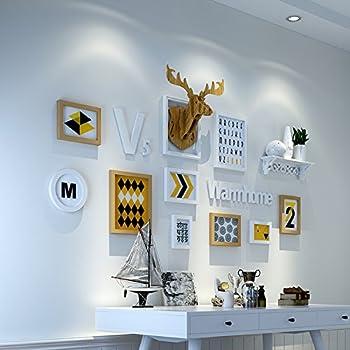 Hjky Photo Frame Wall Set Photo Scandinave Mur Decorative