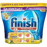Terminer Quantum Powerball Lave-vaisselle comprimés Lemon (30) - Paquet de 6