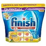 Finish Quantum Powerball Tabs für Spülmaschinen Lemon (30) - Packung mit 6