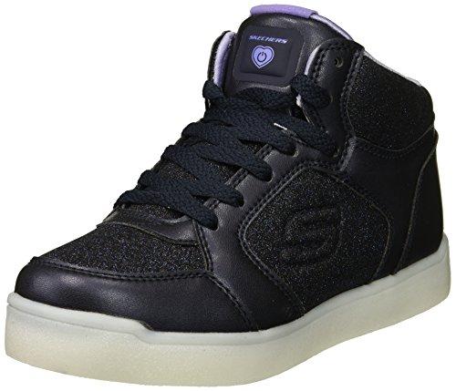 Skechers Mädchen Energy Lights: E-Pro Glitter Glow Hohe Sneaker, Blau (Navy Nvy), 37 EU (Glow-finish)