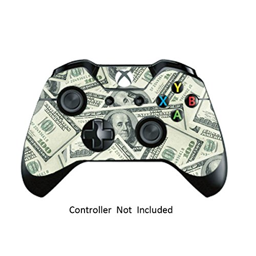 Game Xcel Xbox One High Gloss Controller Skin Custom Xbox 1 Remote Controller Vinyl Sticker Modded Xbox One Accessories Cover Decal Big Ballin [ Controller Not Included ] 51Z9Cnkk9yL