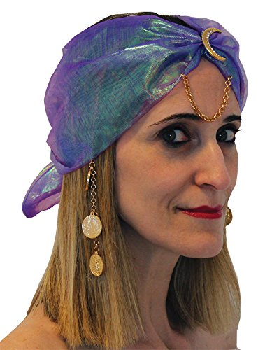 Gypsy Turban Charms Adult Costume - Costume Halloween Un Faire