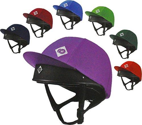 Charles Owen Traditional Colour Silk - farbige Helmüberzüge