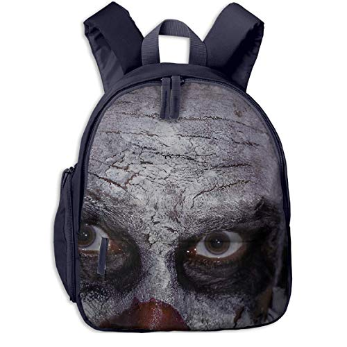 Halloween Clown Creepy Scary Evil Killer Children School Bag Book Backpack Outdoor Travel Pocket Double Zipper - Dakine-kühler