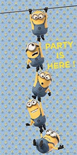 Procos Schön Minions The Party is Here Tür Poster Banner - Zum Personalisieren
