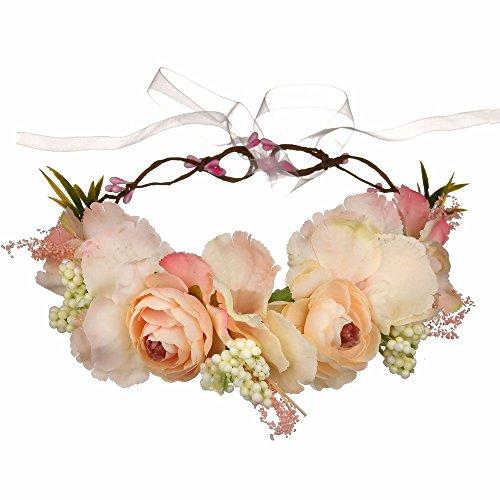 AdorabFitting Girlande garland girlande guder kranz gudelj grunwald Mode Brautjungfer Reise Urlaub Meer handgemachte Blumen Selfie Rosa