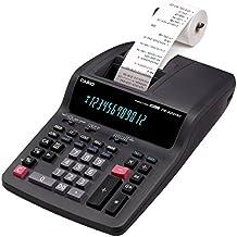 Casio FR-620TEC - Calculadora impresora, gris marengo, 87.8 x 214.5 x 339 mm