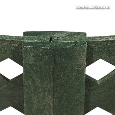 Videx-Hochbeet Verdura, grün, ø 80 cm x H: 60cm von VIDEX GmbH & Co. KG auf Du und dein Garten