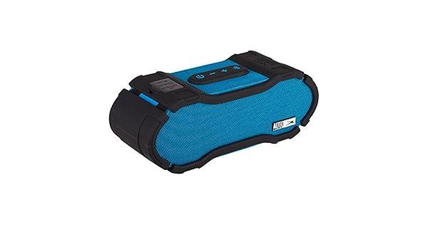 Blue Altec Lansing IMW678-BLU Omni Jacket NFC Bluetooth Speaker