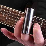 Accessoires guitare pour guitare doigt manches Protection doigt Guitare Guitare antidérapant à courtes Guitare Guitare Bague en acier anti douleur doigt 70mm