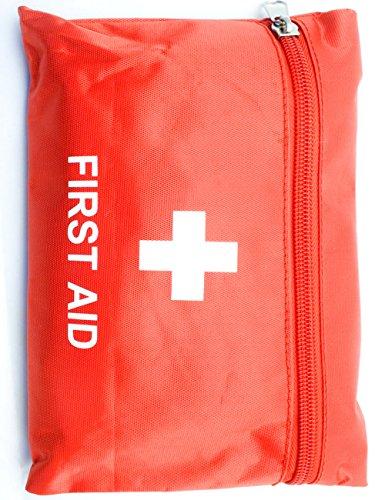 OUTDOOR SAXX® - Camping Erste Hilfe Set | Unterwegs, Reisen, Wandern | Pflaster, Bandage, Binde, Pinzette, Schere, Tupfer, Tasche | 26-teilig