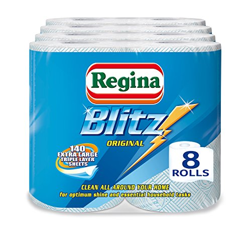 Regina Blitz Household Towels – Pack Of 4, Total 8