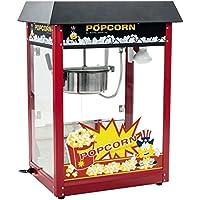Royal Catering - RCPS-16E - Máquina de palomitas de maíz - tejadillo negro - 1600 W - 8 oz - 16 L/h - Envío Gratuito