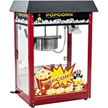 Royal Catering - RCPS-16E - Máquina de palomitas de maíz - tejadillo negro -