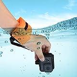 Swallowuk Schwimmende Handschlaufe für Gopro Hero 6/5/4/3+/3/2/1,Xiaoyi,und Sport Kameras