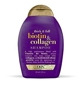 OGX Shampoo, Thick & Full Biotin & Collagen, 13oz by OGX [Beauty] (English Manual)