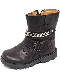 Naturino E7356 Stivale Bimba Black Falcotto by Scarpe Primi Passi Boot Baby  Girl bbb05b8bdb9