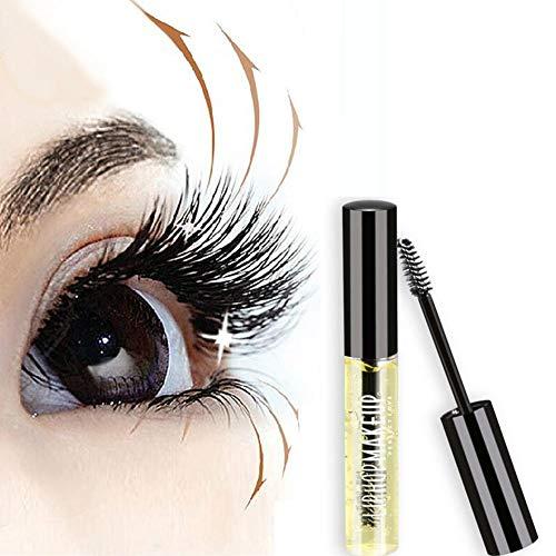 Sérum de Croissance pour Cils, Eyelash Enhancer Serum La croissance des cils plus puissant sérum naturel Aide la croissance des cils et sourcils Améliore le volume et la longueur des cils