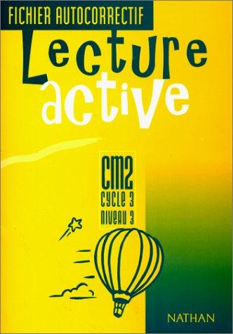 Lecture active, CM2, fichier autocorrectif