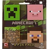 Minecraft 4 pin confezione