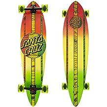 Santa Cruz Skateboard Longboard Mahaka Rasta Fade Pintail - Longboard, talla 9.5 x 39.0 Zoll