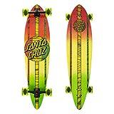 Santa Cruz Skateboard Longboard Mahaka Rasta Fade Pintail - Longboard, Talla 9.5...