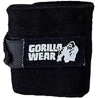 Gorilla Wear Wrist Wraps Basic - schwarz - Bodybuilding und Fitness Accessoire preisvergleich bei billige-tabletten.eu
